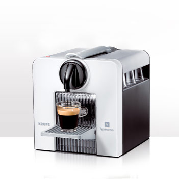Nespresso coffee pods machine