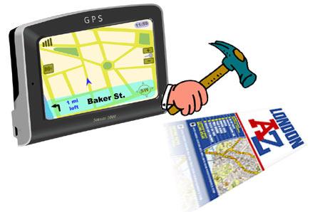 GPS vs paper