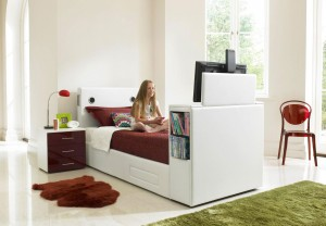 Furniture Village Multimedia Single Bed