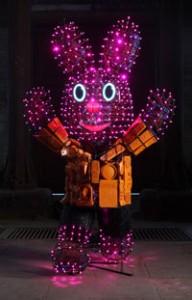LED Duracell Bunny